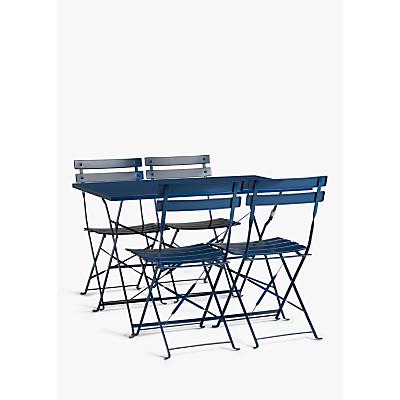 John Lewis & Partners Camden Garden 4-Seat Table & Chairs Set