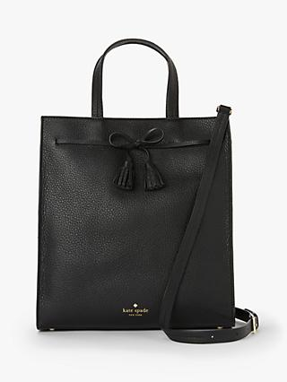 01a1b00c5043 kate spade new york Hayes Street Sam Leather North South Tote Bag