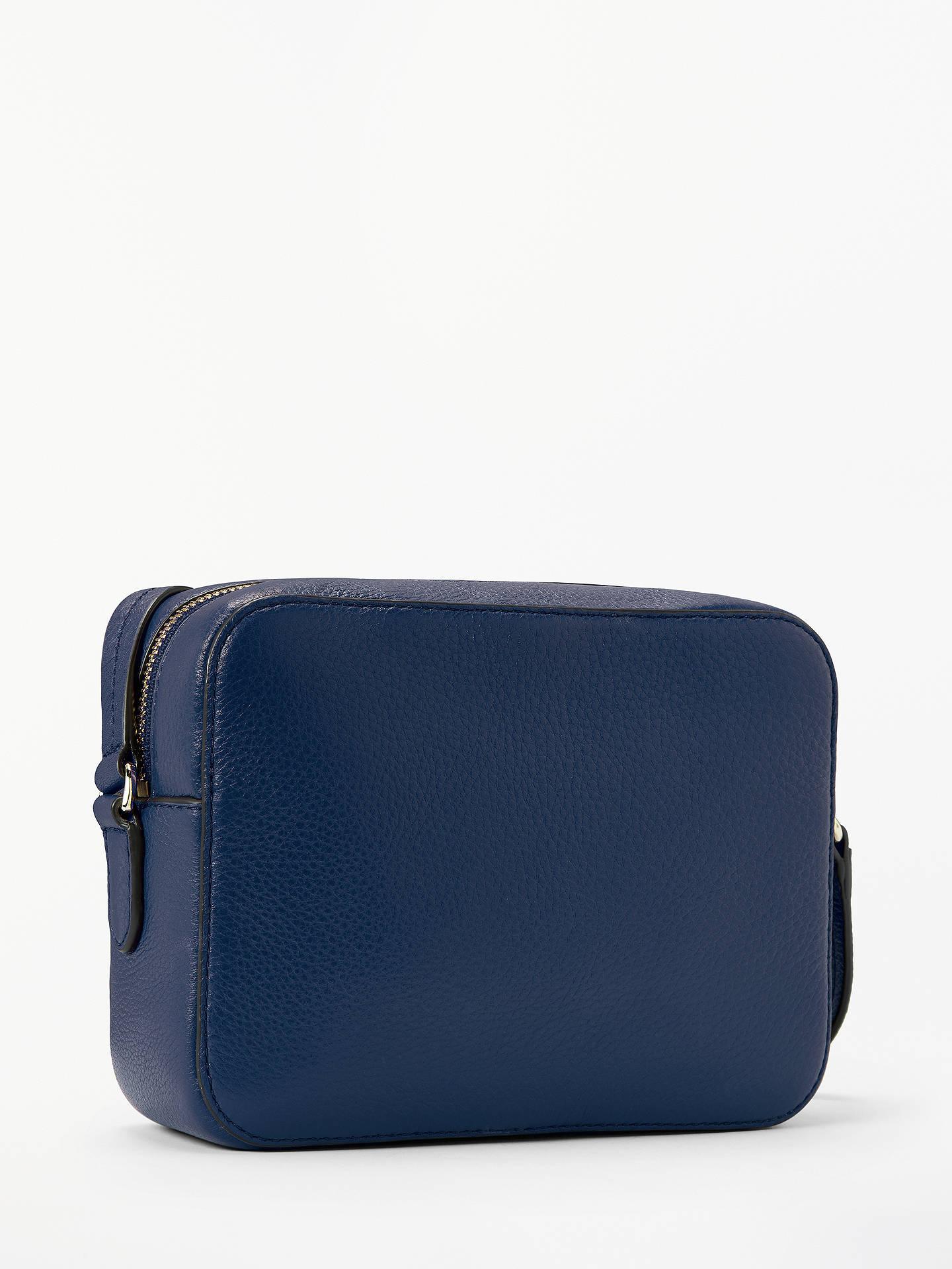 9ade0da68 ... Buy kate spade new york Hayes Street Arla Leather Cross Body Bag,  Blazer Blue Online ...