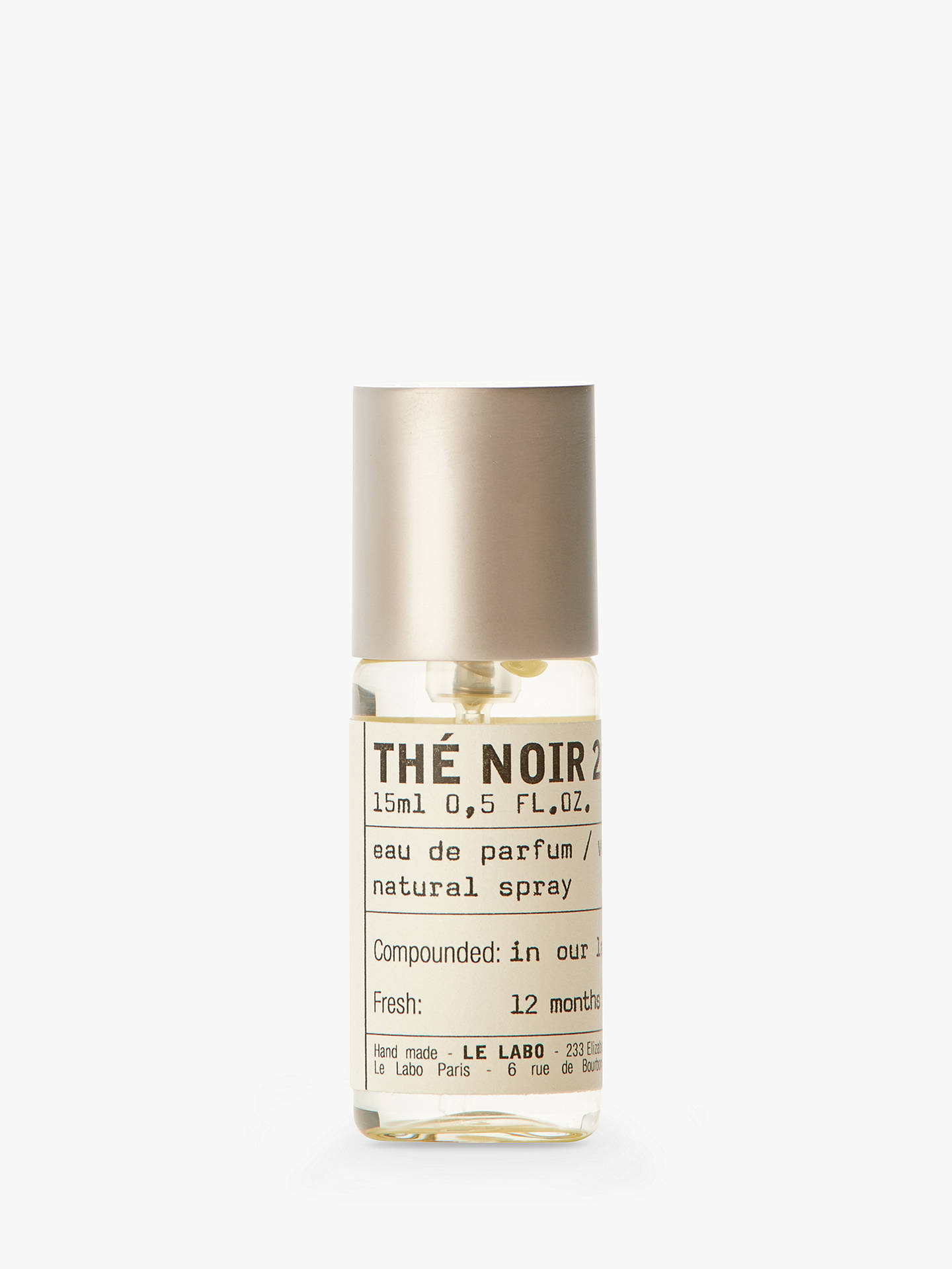 Buy Le Labo Thé Noir 29 Eau de Parfum, 15ml Online at johnlewis.com