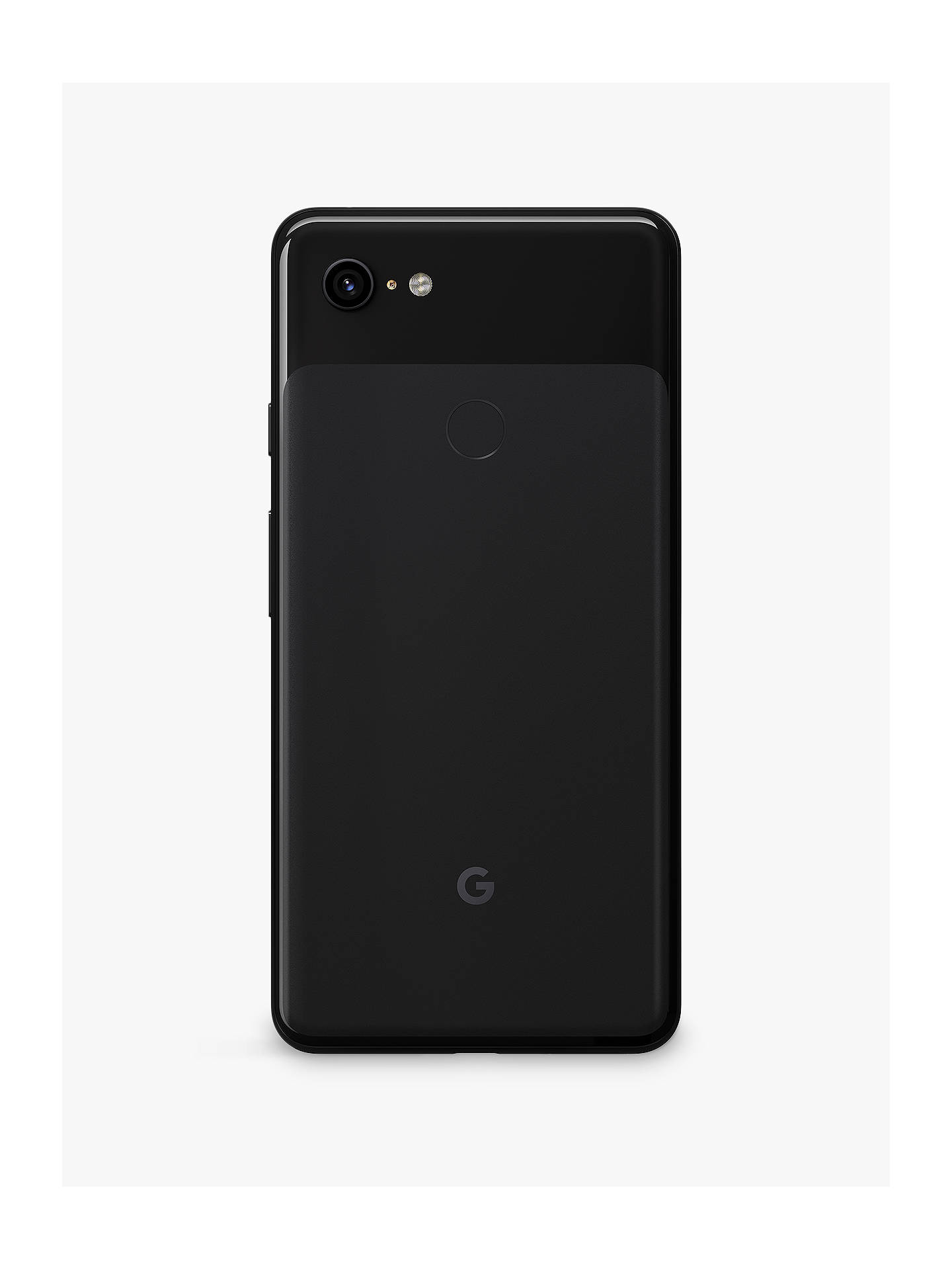 "Buy Google Pixel 3 XL Smartphone, Android, 6.3"", 4G LTE, SIM Free, 64GB, Just Black Online at johnlewis.com"