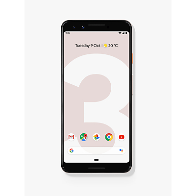 Image of Google Pixel 3 Smartphone, Android, 5.5, 4G LTE, SIM Free, 64GB