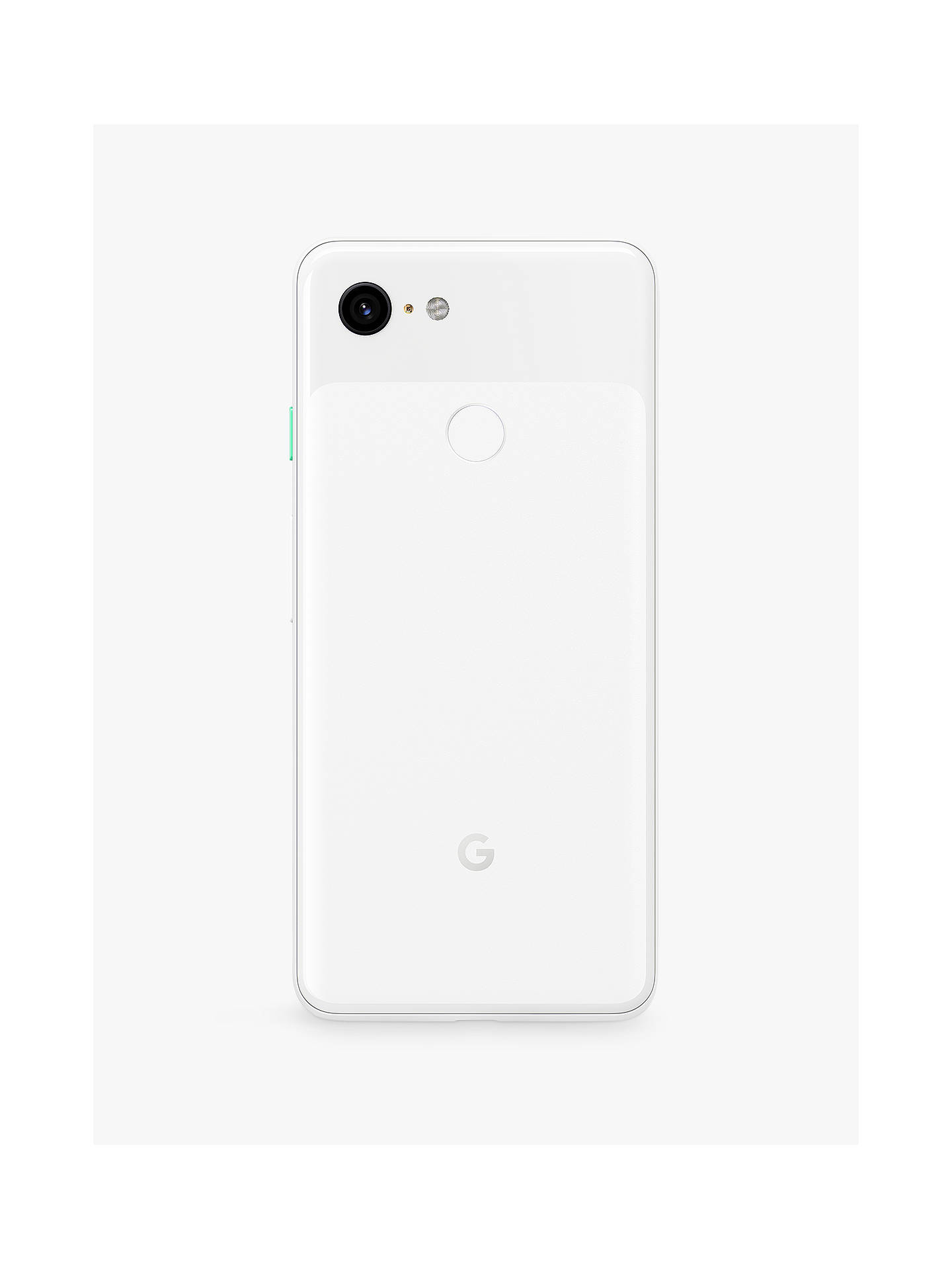 "Buy Google Pixel 3 Smartphone, Android, 5.5"", 4G LTE, SIM Free, 64GB, Clearly White Online at johnlewis.com"