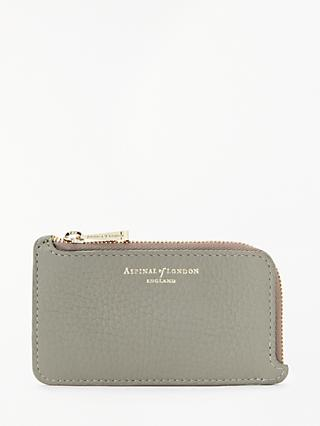Aspinal of London Leather Zipped Coin Purse 458d04e093709