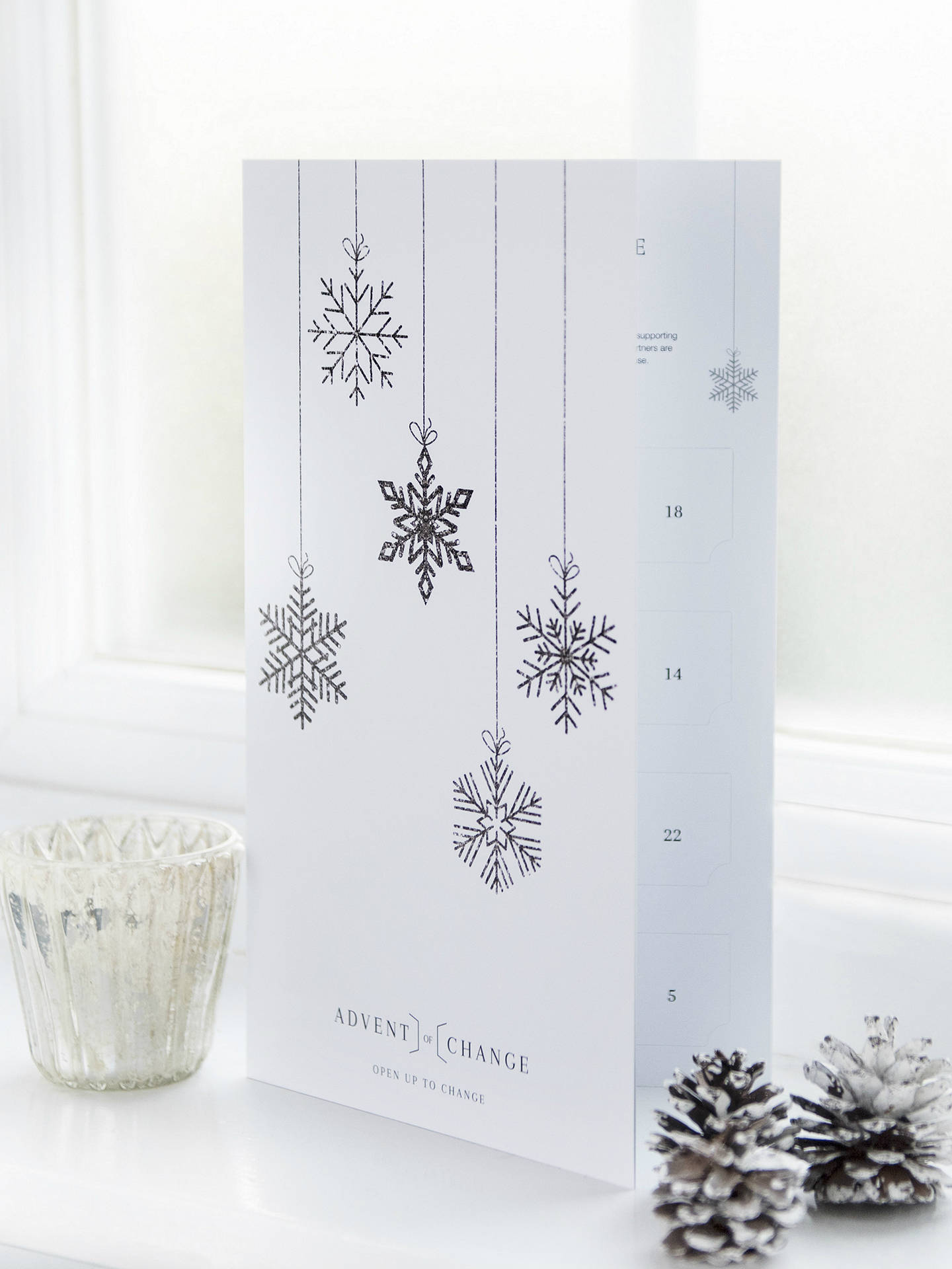 BuyAdvent Of Change Charity Calendar Online at johnlewis.com