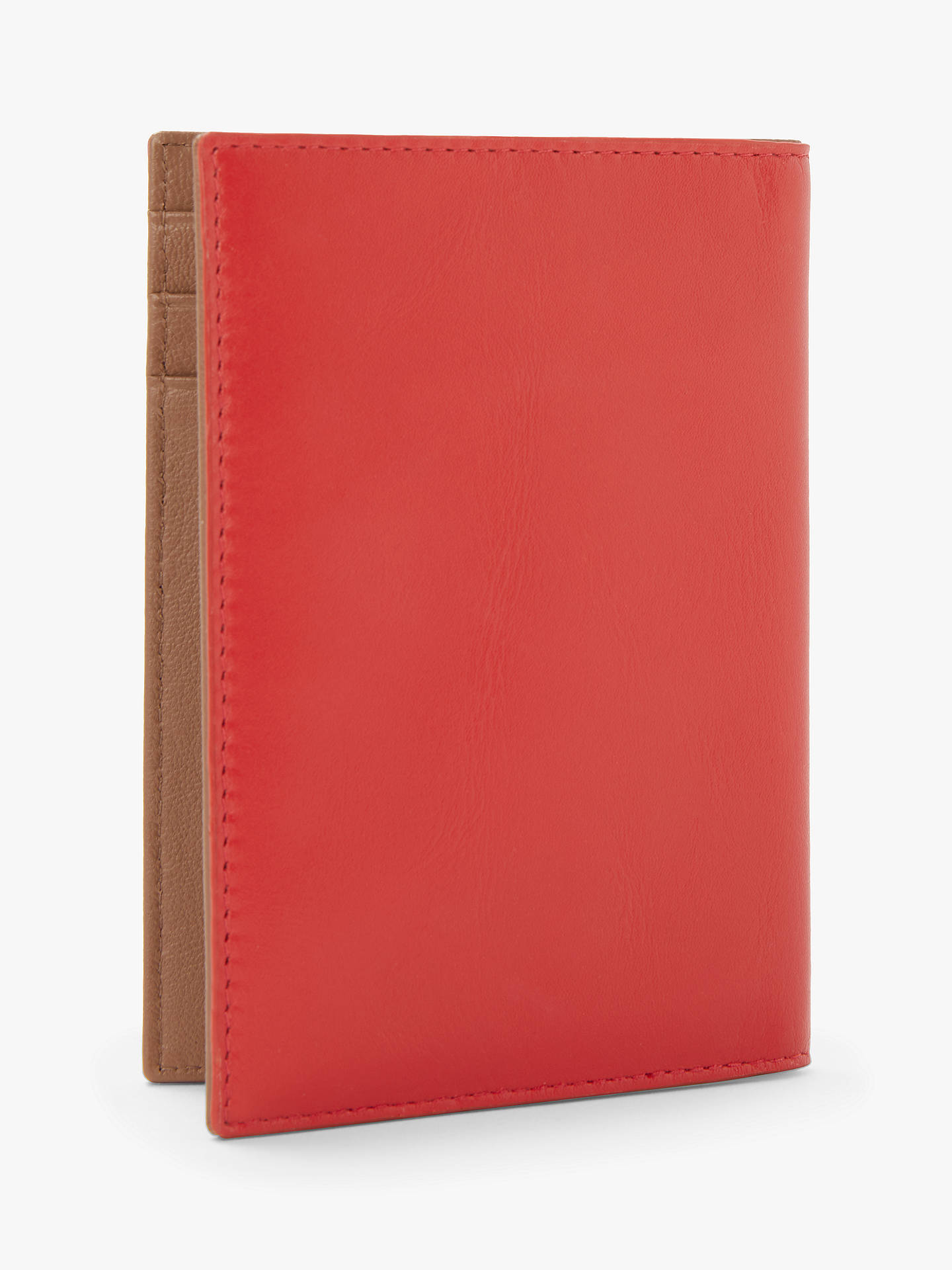 Buy John Lewis & Partners Ali Leather Passport Cover, Fiesta Online at johnlewis.com