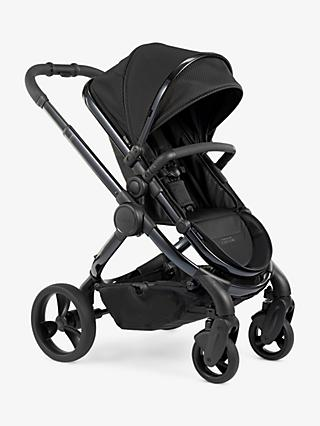 iCandy Peach Designer Collection Cerium Pushchair and Carrycot, Black