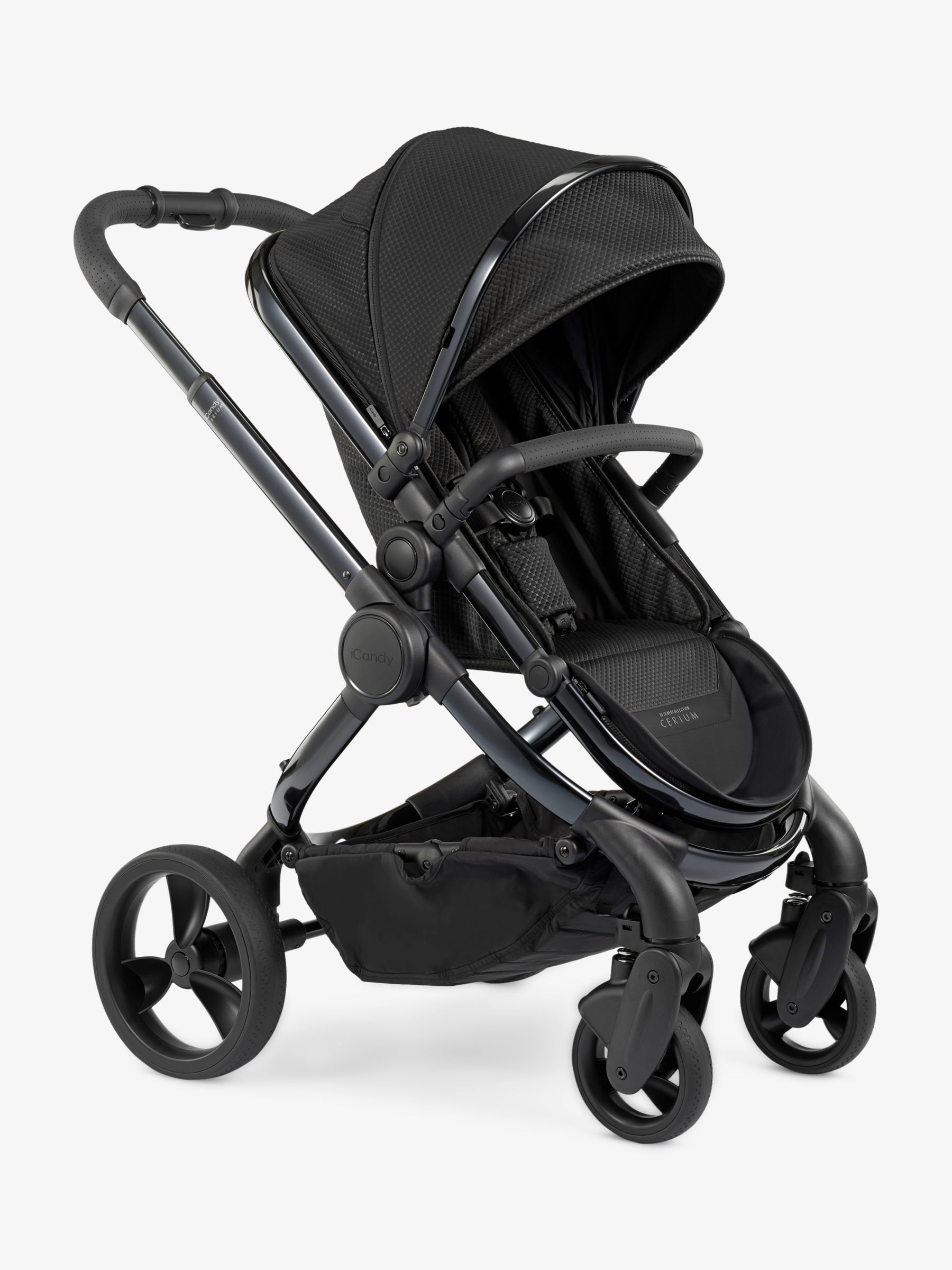 iCandy iCandy Peach Designer Collection Cerium Pushchair and Carrycot, Black