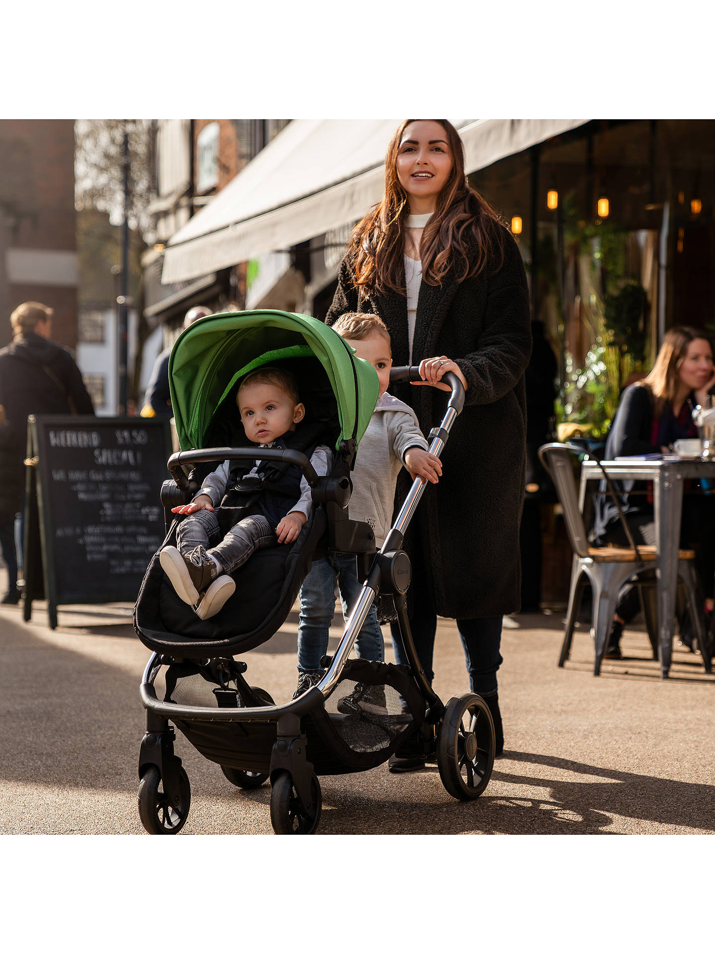 Buy iCandy Lime Pushchair and Carrycot, Onyx Online at johnlewis.com