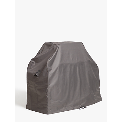 John Lewis & Partners 3 Burner BBQ Cover, Grey