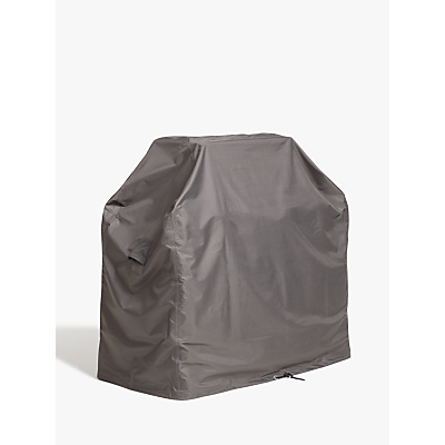 John Lewis & Partners 2 Burner BBQ Cover, Grey