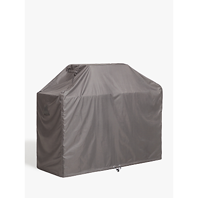 John Lewis & Partners 4 Burner BBQ Cover, Grey