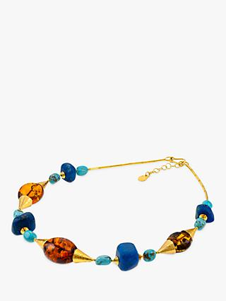 Be-Jewelled Venezia Statement Collar Necklace, Multi