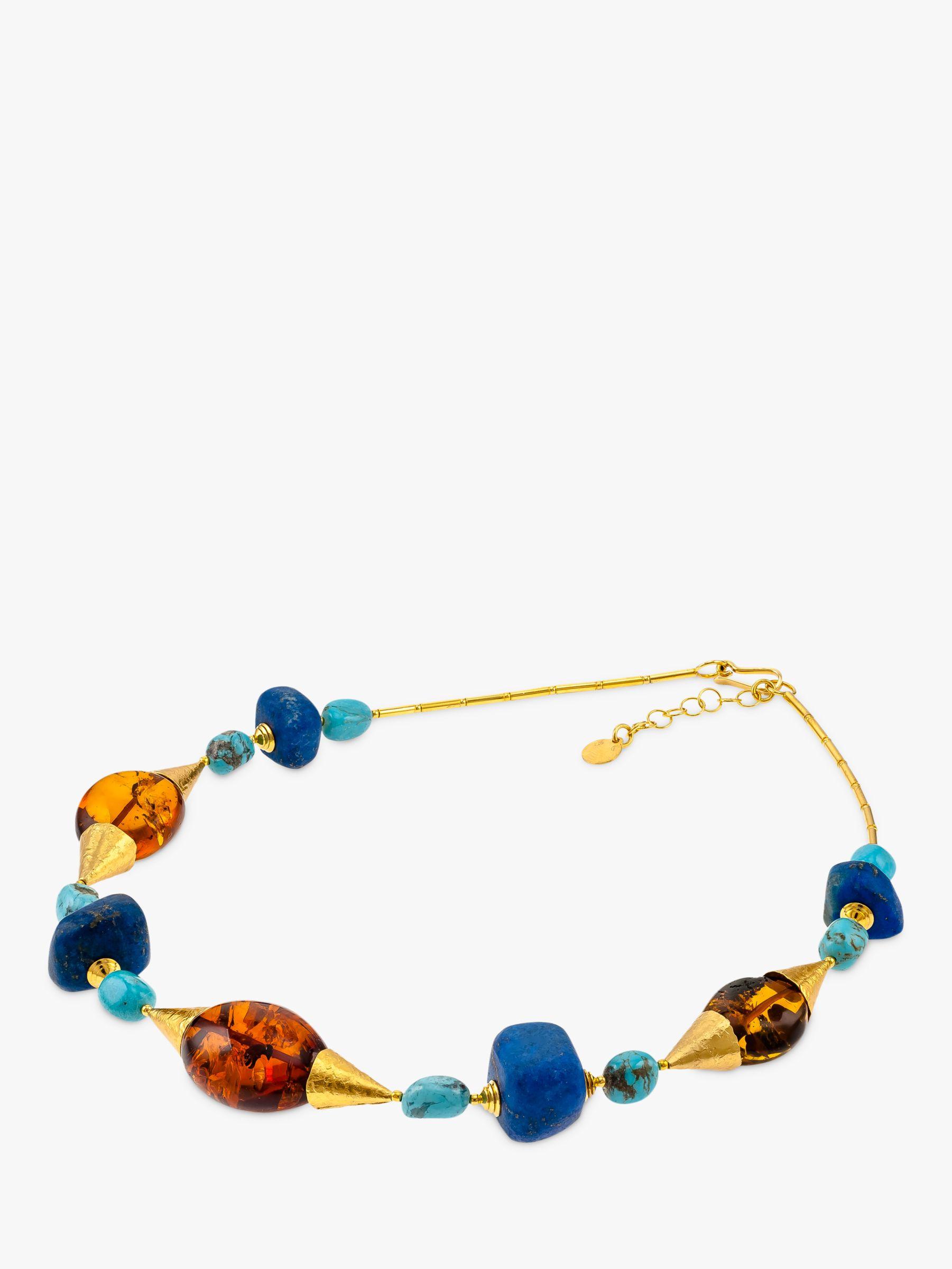Be-Jewelled Be-Jewelled Venezia Statement Collar Necklace, Multi