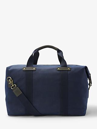 John Lewis & Partners Keswick Waxed Cotton Holdall