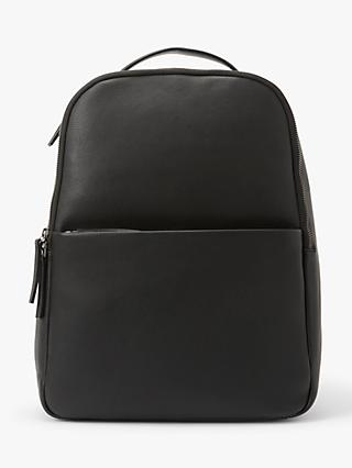 John Lewis & Partners Oslo Leather Backpack