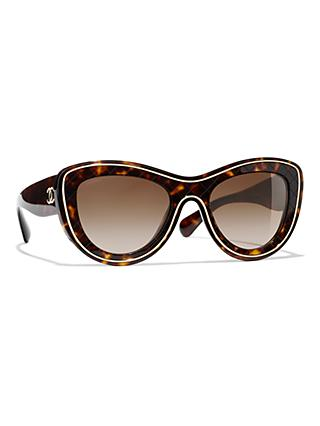 f8059554459 Butterfly Sunglasses CH5397 Havana Brown Gradient