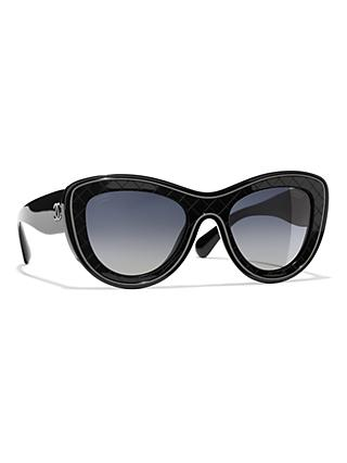 b206bddc3d1d CHANEL Butterfly Sunglasses CH5397 Black Grey Gradient