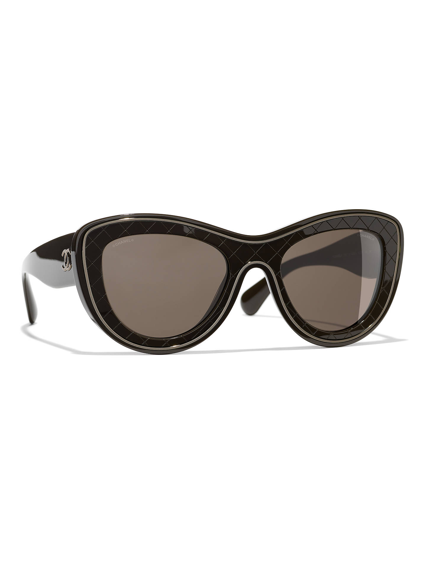 BuyCHANEL Butterfly Sunglasses CH5397 Brown/Brown Gradient Online at johnlewis.com