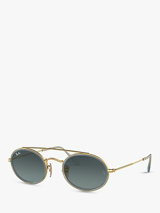 Ray-Ban RB3847N Unisex Oval Sunglasses