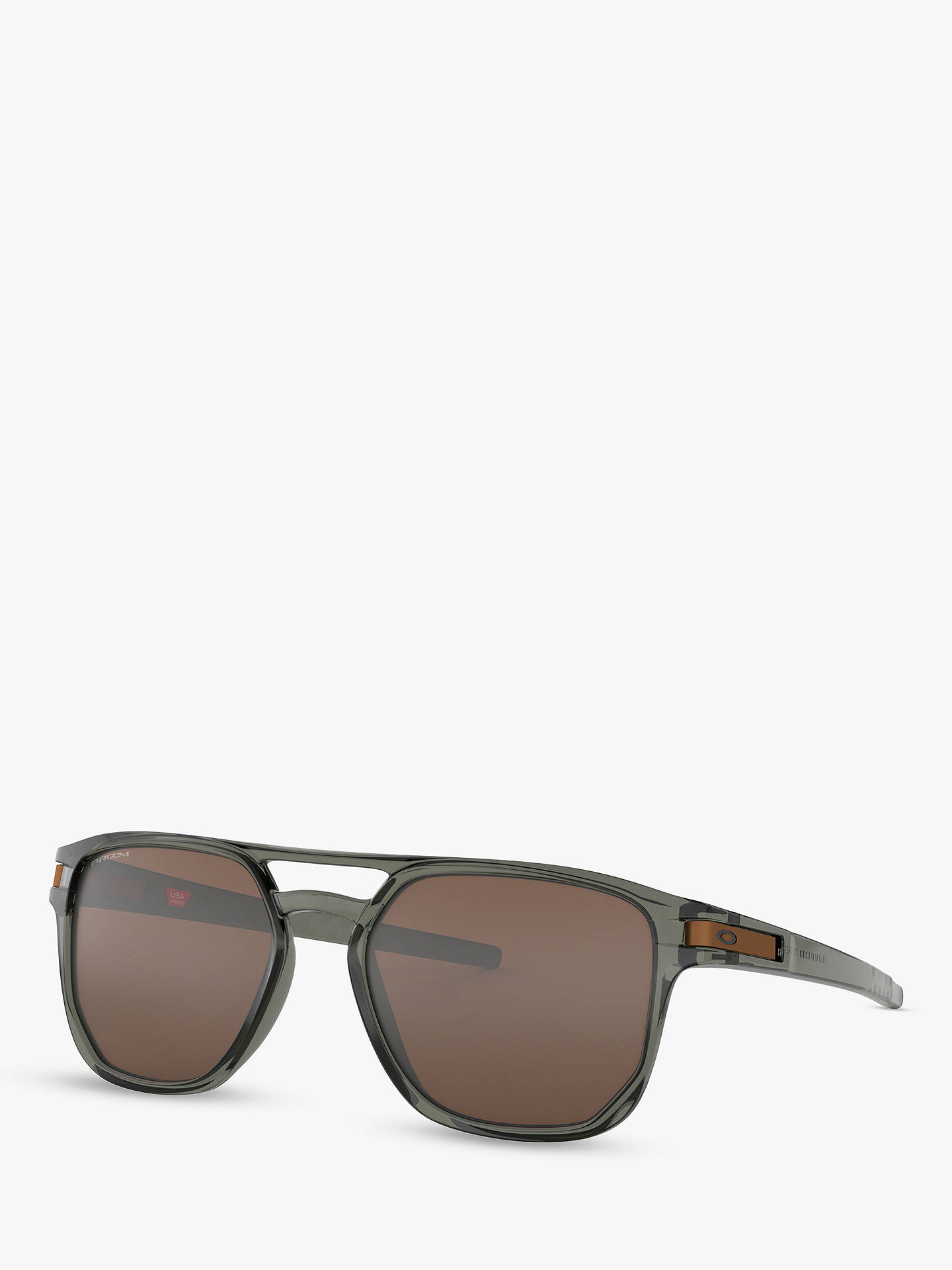 2ca0404f60 Buy Oakley OO9436 Men s Latch Beta Prizm Oval Sunglasses