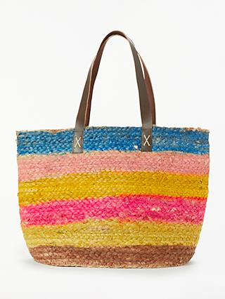 Unmade Nieve Stripe Shopper Bag, Multi