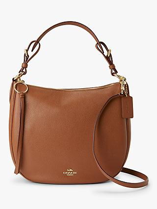 Coach Sutton Pebbled Leather Hobo Bag 7c76aa2883500