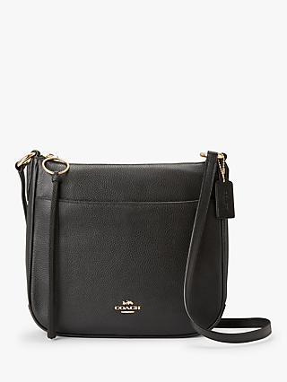 Coach Chaise Pebble Leather Cross Body Bag