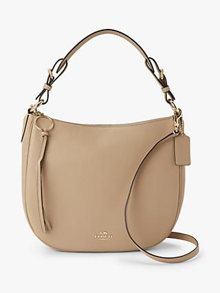 b0620ae14f7a Coach Sutton Pebbled Leather Hobo Bag