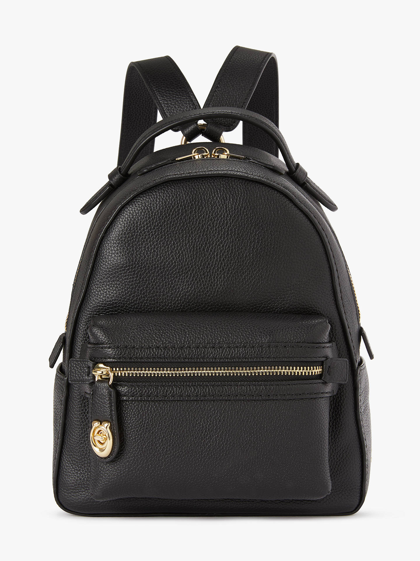 7bbc8f3ecaf4a Buy Coach Campus 23 Pebble Leather Backpack