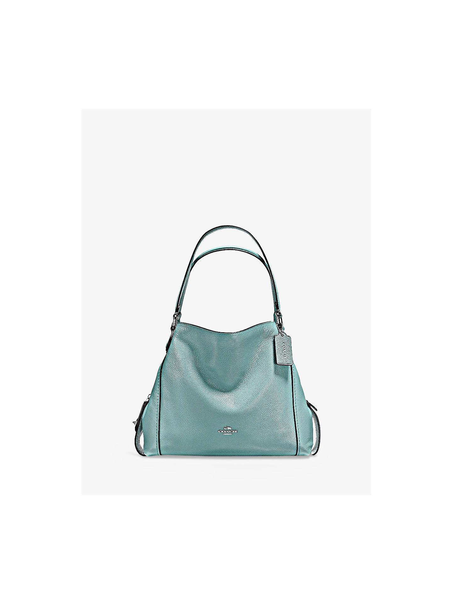 267b7259e33e3 Buy Coach Edie 31 Polished Pebble Leather Shoulder Bag