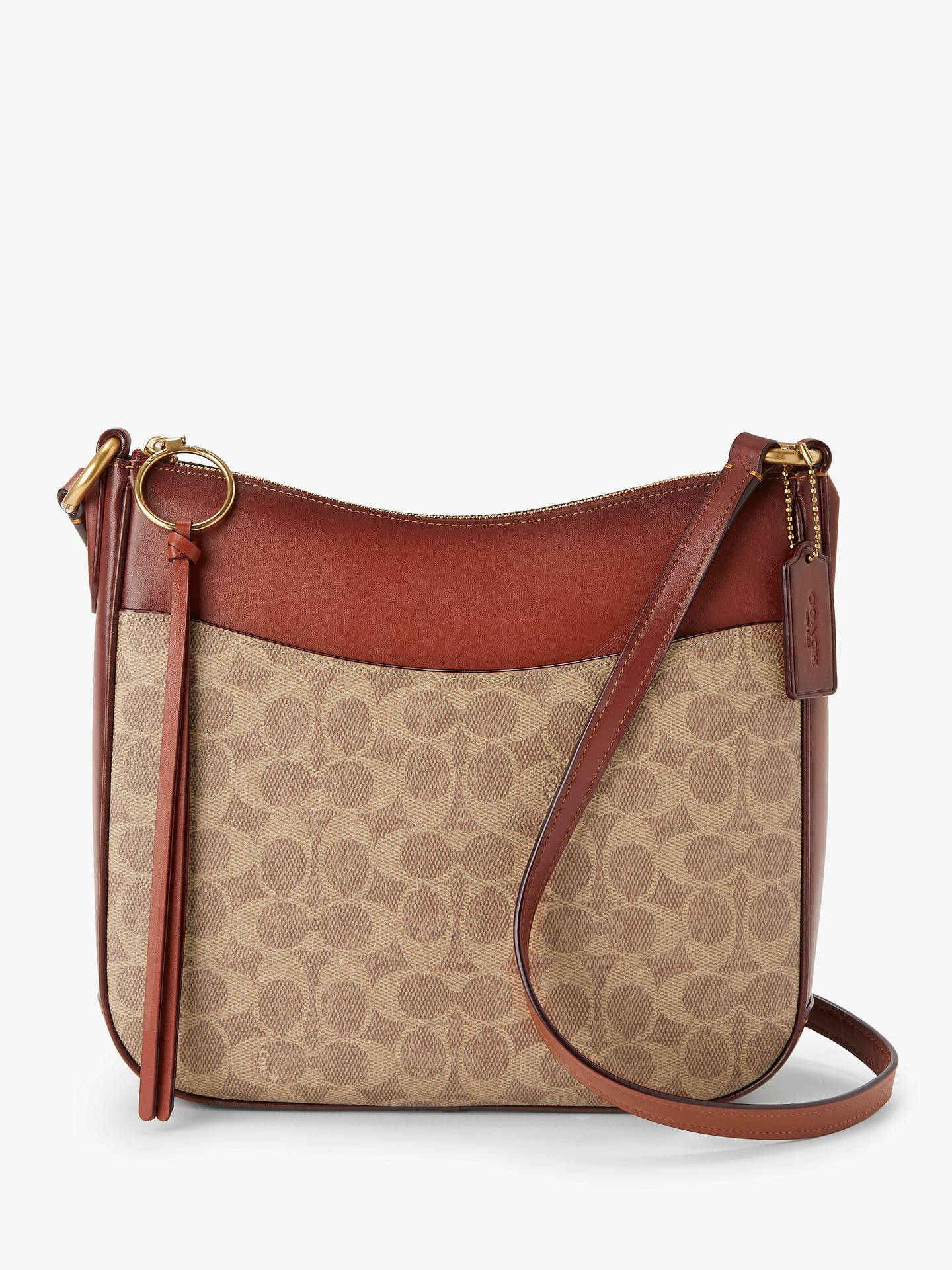 09bc1269606f Buy Coach Signature Chaise Cross Body Bag