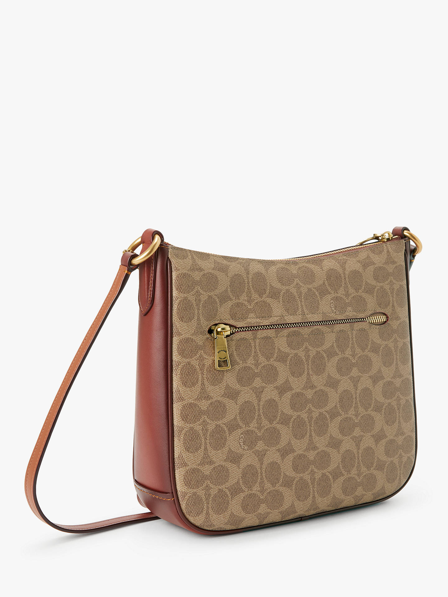 d954ee5236c7 ... Buy Coach Signature Chaise Cross Body Bag