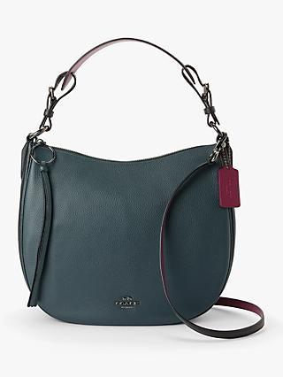 8de9da9e2b55 Coach Sutton Pebbled Leather Hobo Bag