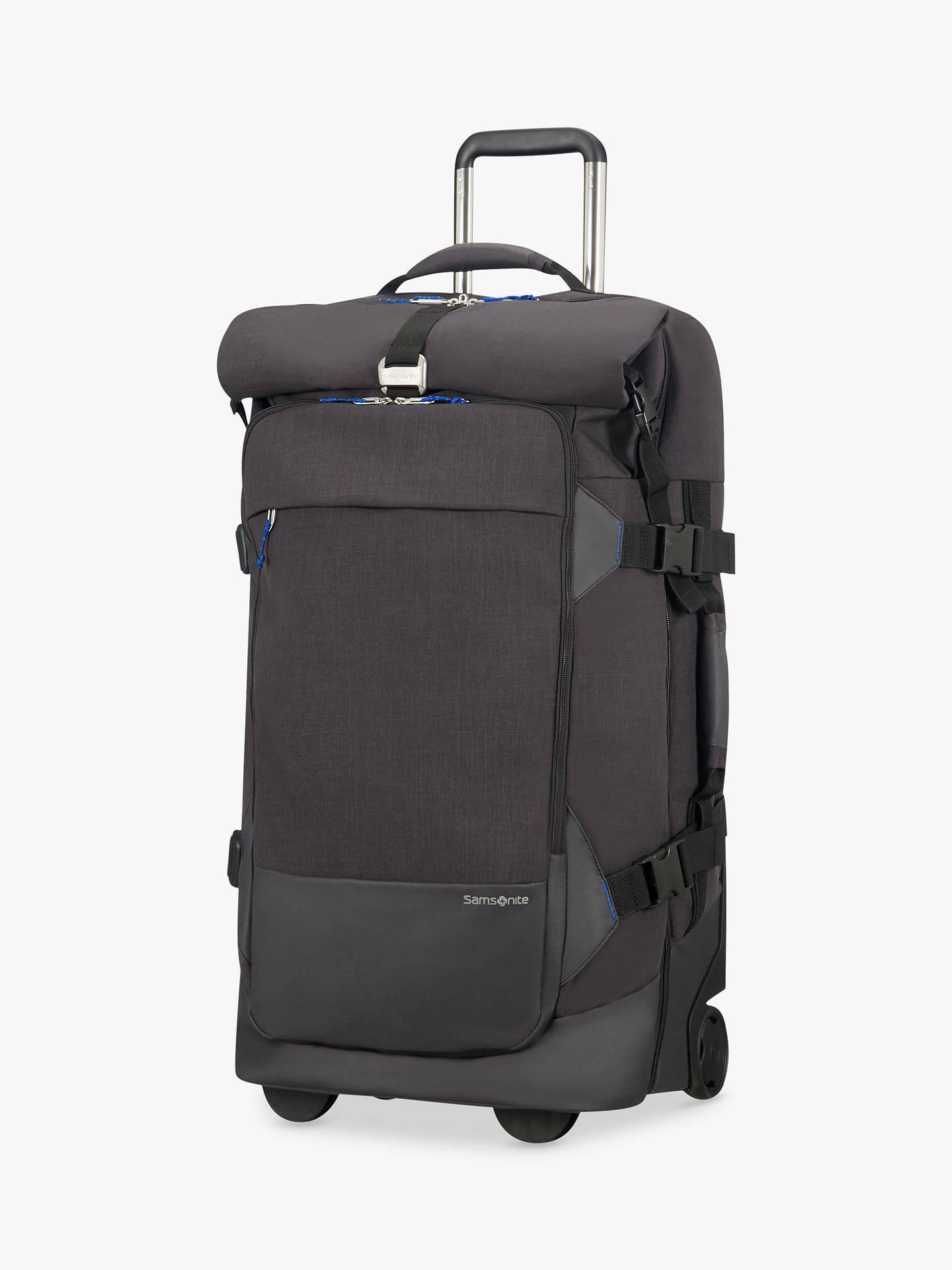 BuySamsonite Ziproll Recycled 75cm 2-Wheel Duffle Bag, Blue Online at  johnlewis.com ... 82e9e76de2