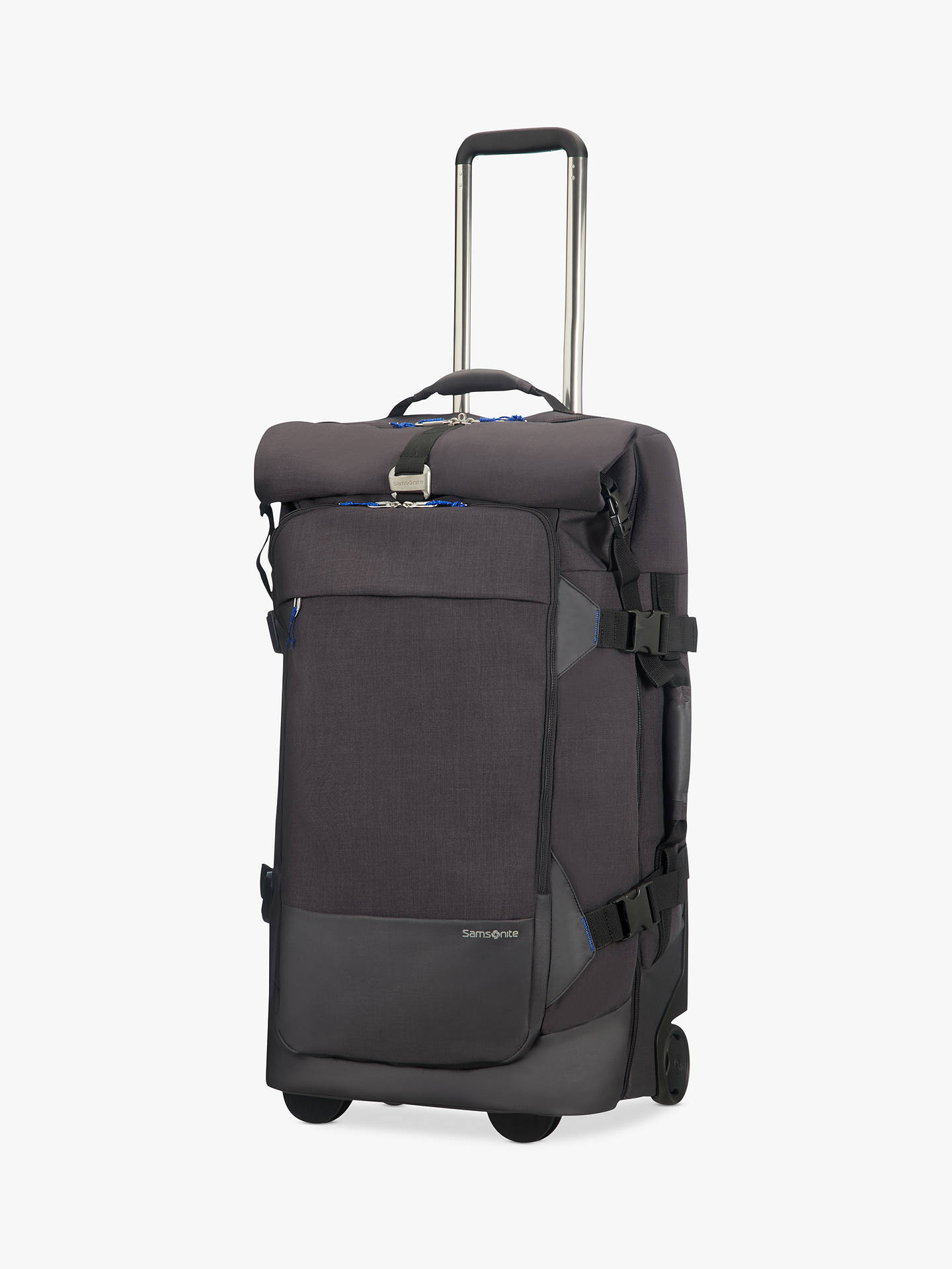 ... BuySamsonite Ziproll Recycled 75cm 2-Wheel Duffle Bag, Blue Online at  johnlewis.com ... b95c182731