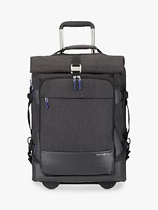 Samsonite Ziproll Recycled 55cm Wheeled Duffle Backpack