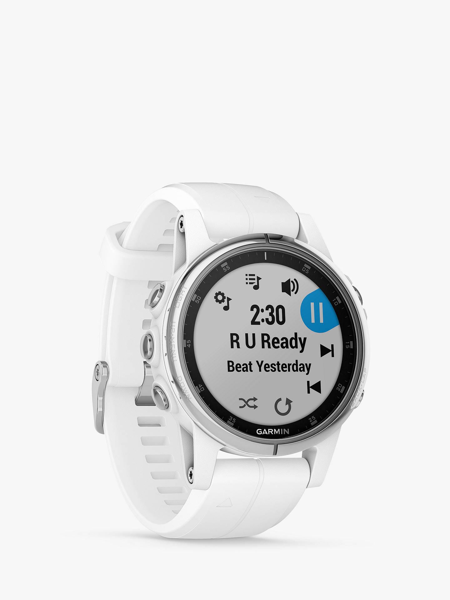 Garmin Fenix 5s Plus Sapphire Gps Multisport Watch 4 2cm At John