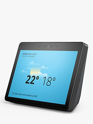 "Amazon Echo Show Smart Speaker with 10"" Screen & Alexa Voice Recognition & Control, 2nd Generation, x 2 (Bundle)"