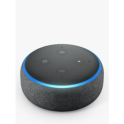 Image of Amazon Echo Dot Smart Device with Alexa Voice Recognition & Control, 3rd Generation