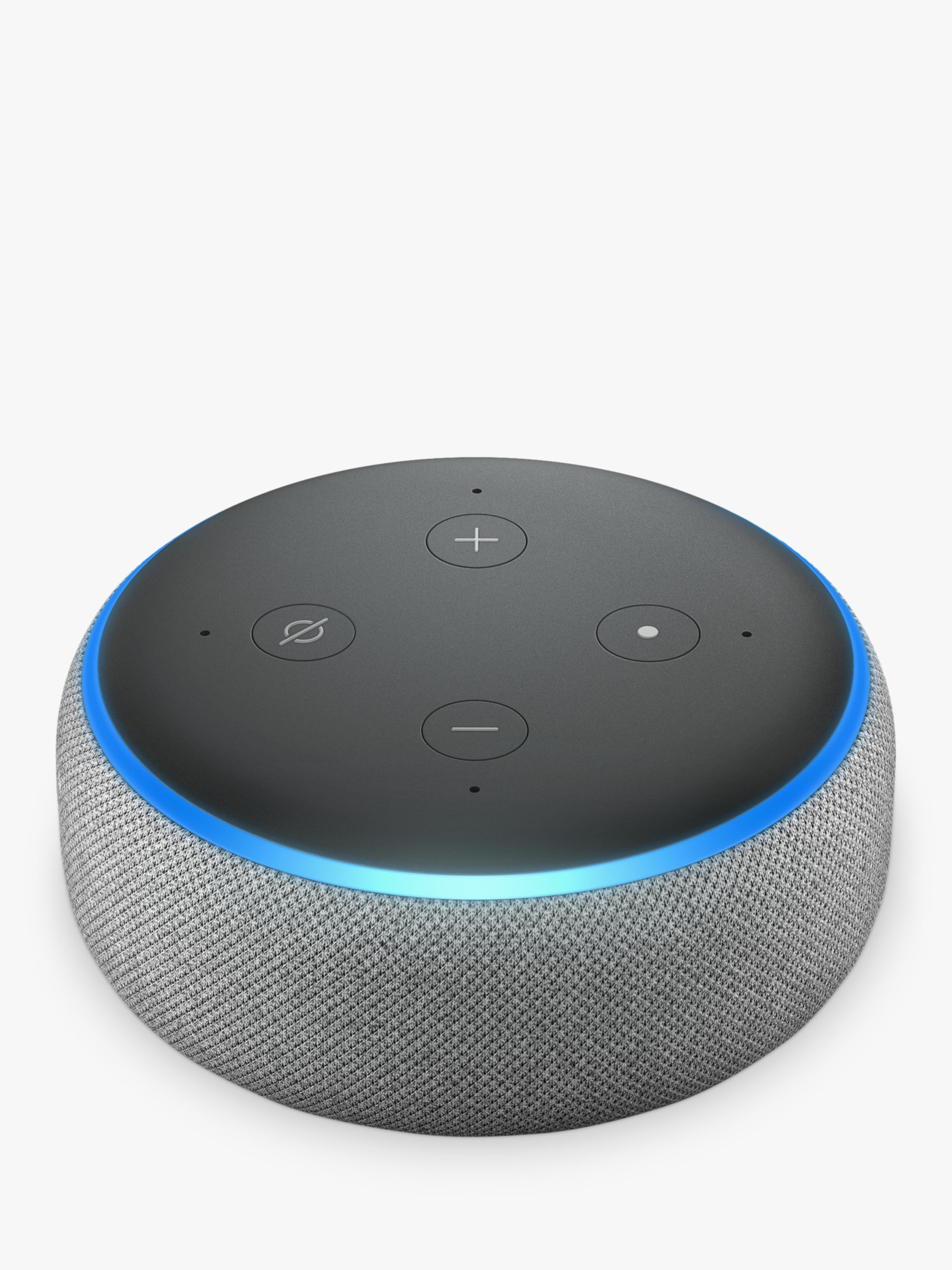 Amazon Echo Dot Smart Device with Alexa Voice Recognition & Control, 3rd  Generation, Grey