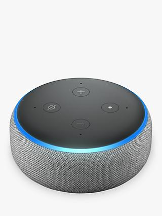 Amazon Echo Dot Smart Device with Alexa Voice Recognition & Control, 3rd Generation