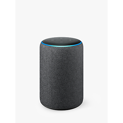 Amazon Echo Plus Smart Speaker with Built-in Smart Home Hub with Alexa Voice Recognition & Control, 2nd Generation