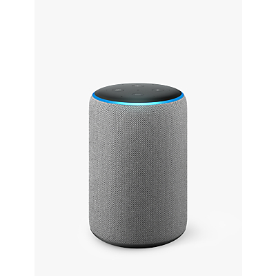 Image of Amazon Echo Plus Smart Speaker with Built-in Smart Home Hub with Alexa Voice Recognition & Control, 2nd Generation