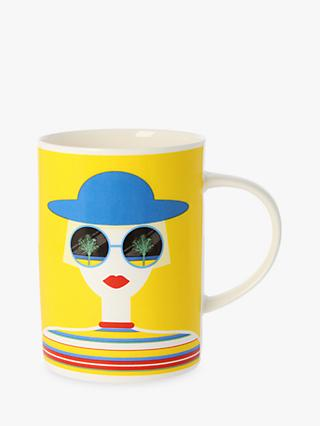 EAST END PRINTS Sunglasses Mug, Multi, 300ml