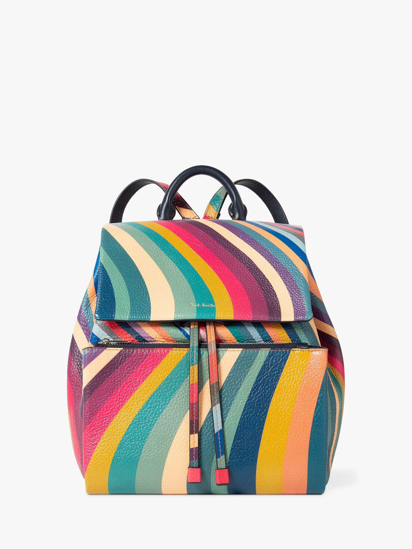 ce21f80d10 Buy Paul Smith Leather Flapover Backpack