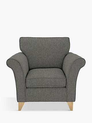 John Lewis & Partners Charlotte Armchair, Light Leg