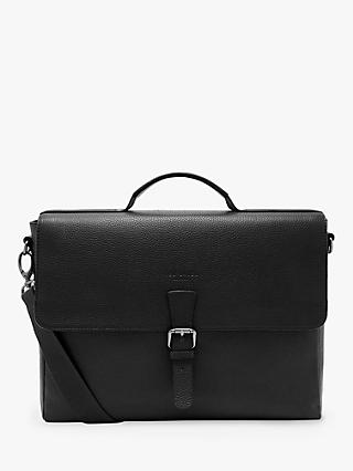 Ted Baker Departs Leather Satchel, Black