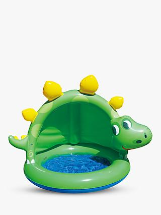 Summer Waves Dinosaur Pool with Sun Shade