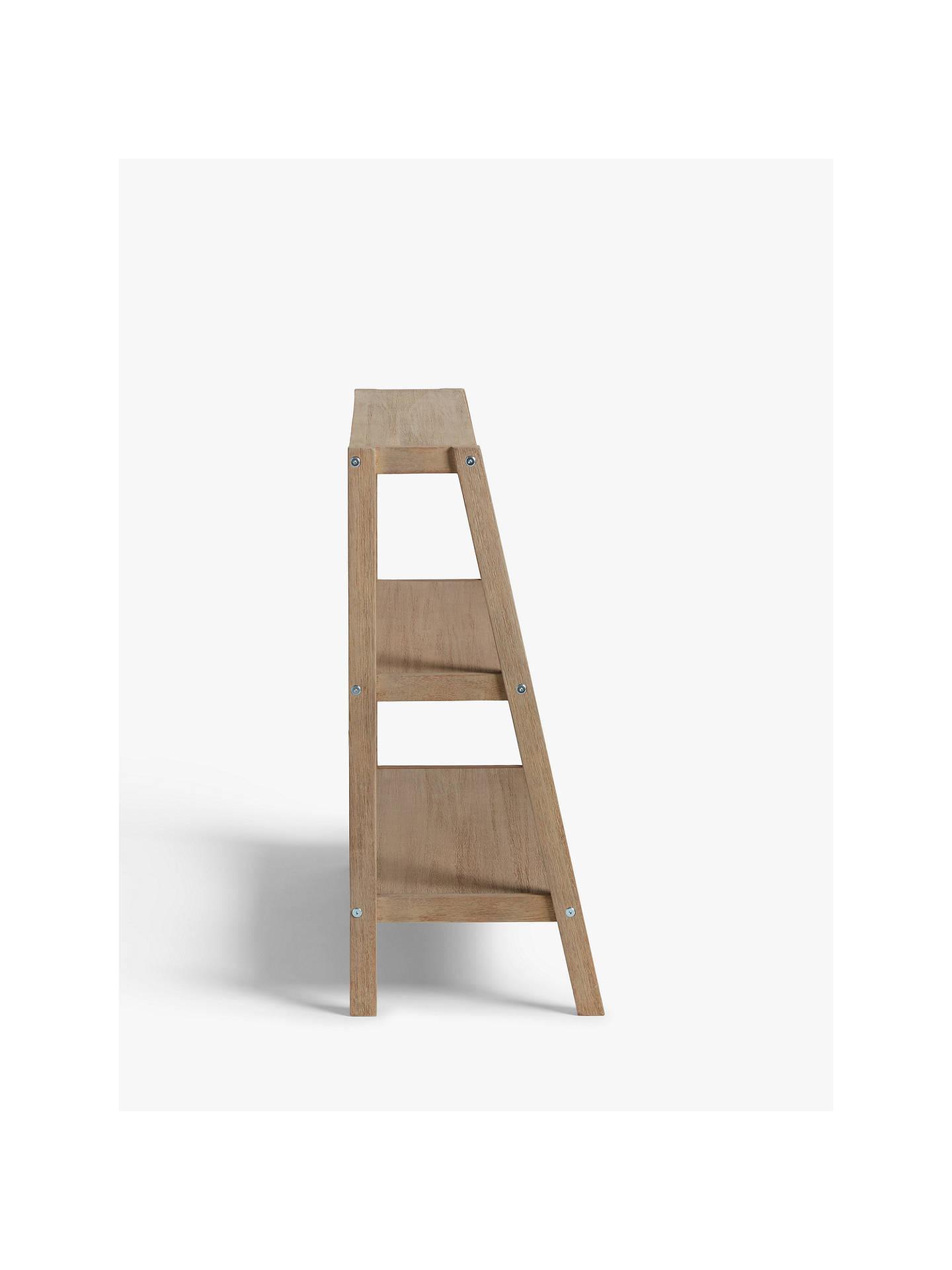 pretty nice 78d86 e9900 John Lewis & Partners Burford Small Garden Shelf Ladder, FSC-Certified  (Eucalyptus Wood)